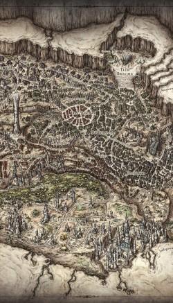 Mike Schley ilustrador y cartógrafo